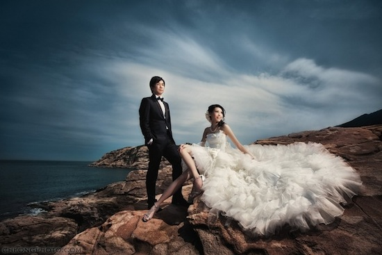 6pre Wedding At Beach Side