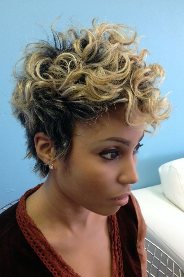 20 Curly Pixie Haircut Black Women Short Hairstyles 2015 Blogrope