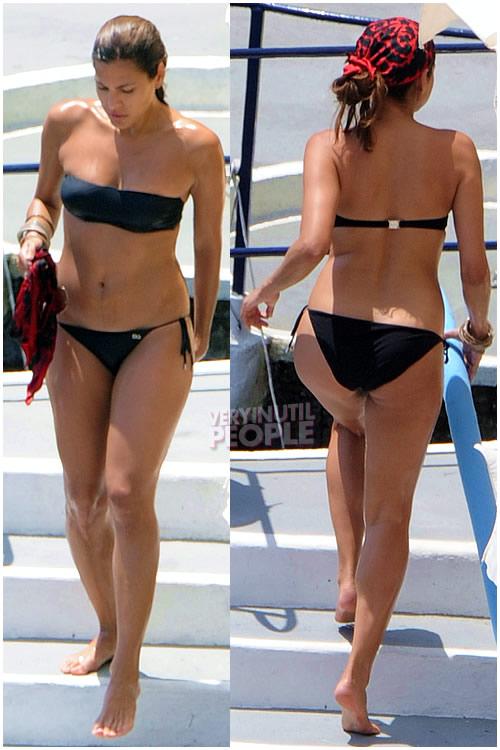 Old Actress In Bikini