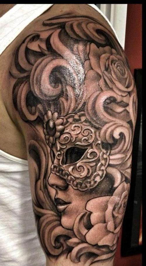 22 Professional Tattoo Designs For Men Arm Shoulder